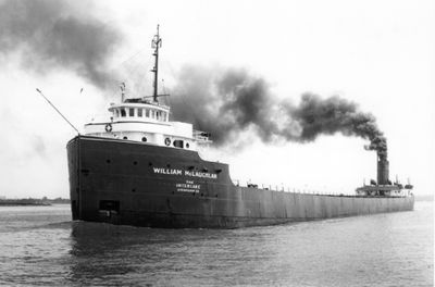 WILLIAM MCLAUCHLAN (1927, Bulk Freighter)