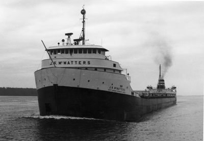 J.N. MCWATTERS (1961, Bulk Freighter)
