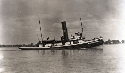 SARAH E. MCWILLAMS (1908, Tug (Towboat))