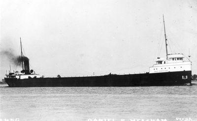 DANIEL B. MEACHAM (1908, Bulk Freighter)