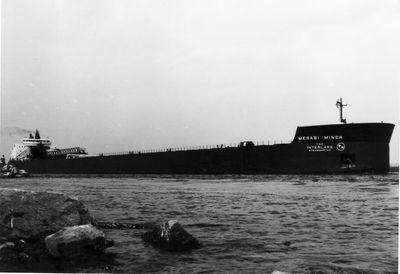 MESABI MINER (1977, Bulk Freighter)