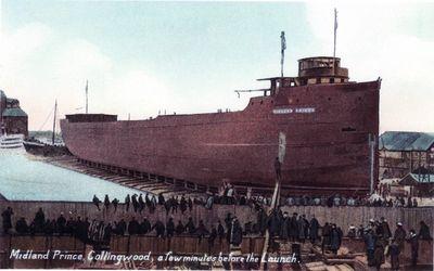 MIDLAND PRINCE (1907, Bulk Freighter)