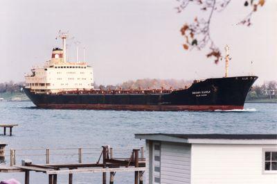 MILIN KAMAK (1979, Ocean Freighter)