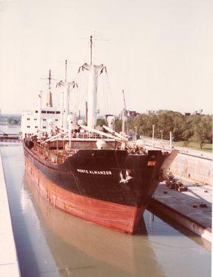 MONTE ALMANOR (1973, Ocean Freighter)