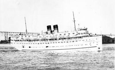 NORTH AMERICAN (1913, Excursion Vessel)