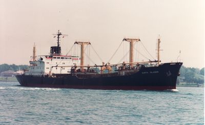 NORTH ISLANDS (1987, Ocean Freighter)