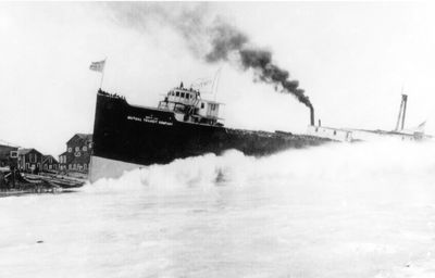 NORTH LAKE (1909, Package Freighter)