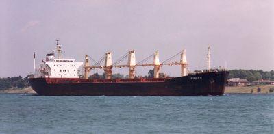 NOSIRA SHARON (1981, Ocean Freighter)
