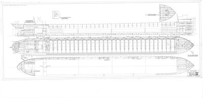 Profile & Deck Plan for J.S. ASHLEY, Hull NO. 371
