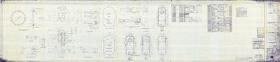 Hinged Doors Plan By Edward Budd Manufacturing Co.