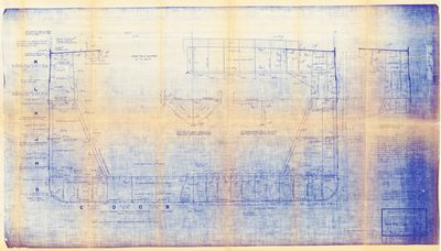 Midship Section Plans of Hulls No. 287-288 & 289