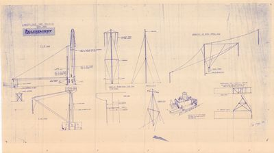 Rigging Plans for Liberty Ship EC2-S-C1