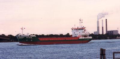 PATRIA (1993, Ocean Freighter)