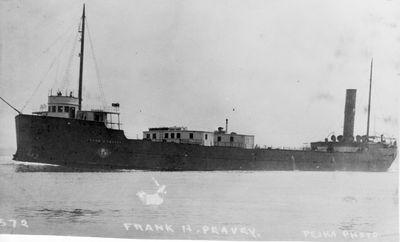 FRANK H. PEAVEY (1901, Bulk Freighter)