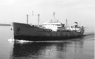 B.A. PEERLESS (1952, Tank Vessel)