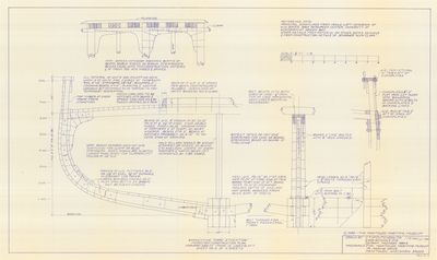Midship Section Construction Plans for Barkentine MARY STOCKTON (1853)
