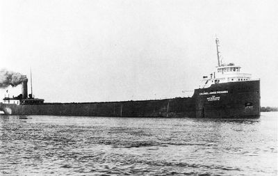 COLONEL JAMES PICKANDS (1926, Bulk Freighter)