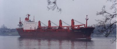 PAOLO PITTALUGA (1985, Ocean Freighter)