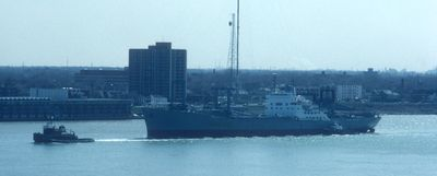 PRESIDENT HARRISON (1966, Package Freighter)