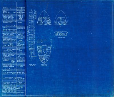 Hold Plans for WILLIAM EDENBORN (1900)