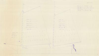 Sail Plan of STRANGER by R.C. Swanson