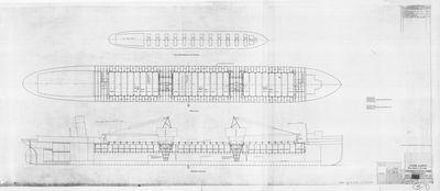 Conversion to Scrap Carrier Arrangement for STR. JOHN H. MCLEAN (1916)