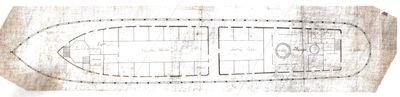 Inboard Deck View of Propeller MAINE (1862)