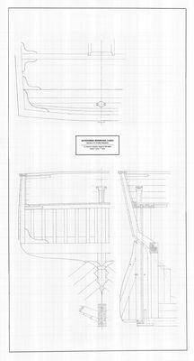 Details of Stern Framing for Schooner BERMUDA (1860)