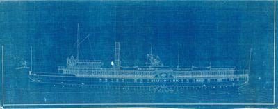 Outboard Profile of STATE OF OHIO (1880)