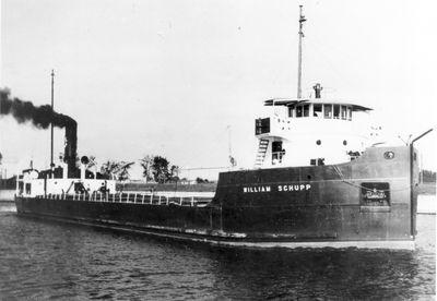 WILLIAM SCHUPP (1928, Bulk Freighter)