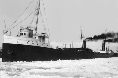 WALTER SCRANTON (1901, Bulk Freighter)