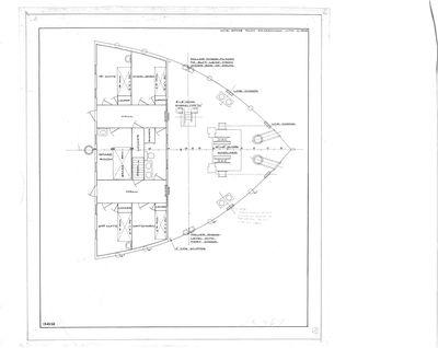 Spar Room Arrangement for ISAAC M. SCOTT (1909)