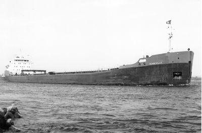 SENNEVILLE (1967, Bulk Freighter)
