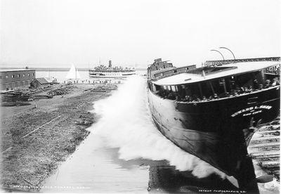 HOWARD L. SHAW (1900, Bulk Freighter)
