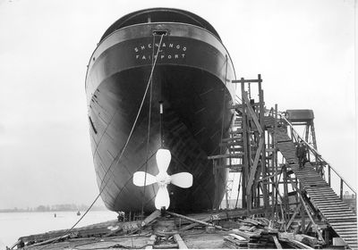 SHENANGO (1909, Bulk Freighter)