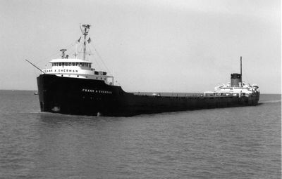 FRANK A. SHERMAN (1958, Bulk Freighter)