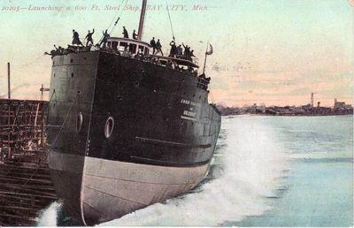 JOHN SHERWIN (1906, Bulk Freighter)