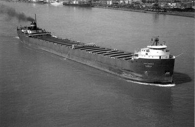 JOHN SHERWIN (1958, Bulk Freighter)