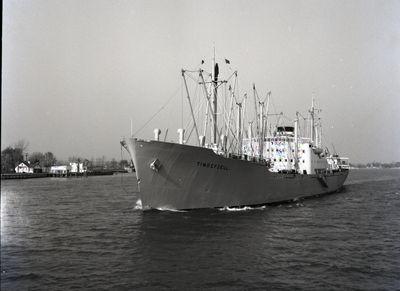 SIBONEY (1953, Ocean Freighter)