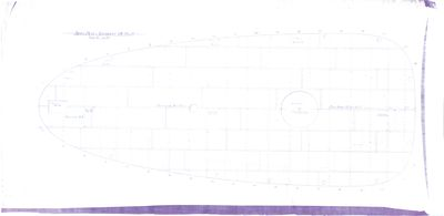 Deck Plan for Steam Barges Nos. 119, 120 & 121
