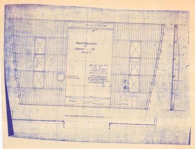 Engine Room Deck for Steamer THOMAS WILSON [No. 119] (1892)