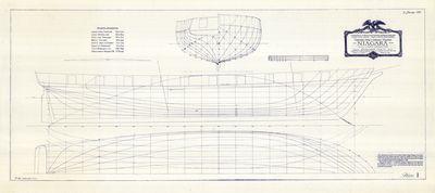 Eleven Plate Series for Brig NIAGARA (1988)