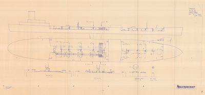 Inboard Arrangement TANKER T2-SE-A1 (1984)