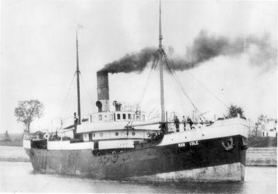 SKERNE (1909, Package Freighter)
