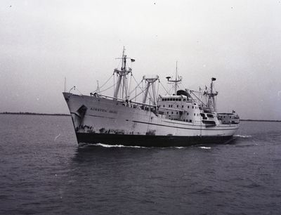 KIRSTEN SKOU (1964, Ocean Freighter)