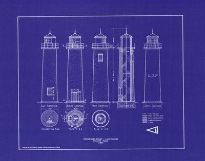 Minnesota Point Lighthouse Elevations