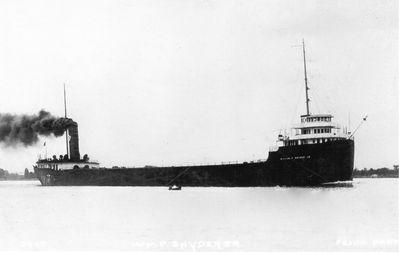 WILLIAM P. SNYDER JR (1912, Bulk Freighter)