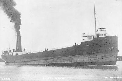 STEEL KING (1902, Bulk Freighter)