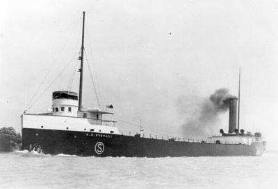 A.E. STEWART (1902, Bulk Freighter)