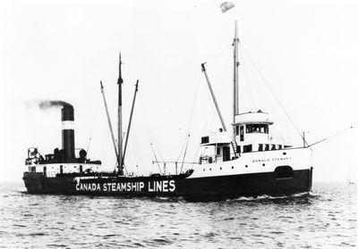 DONALD STEWART (1923, Bulk Freighter)